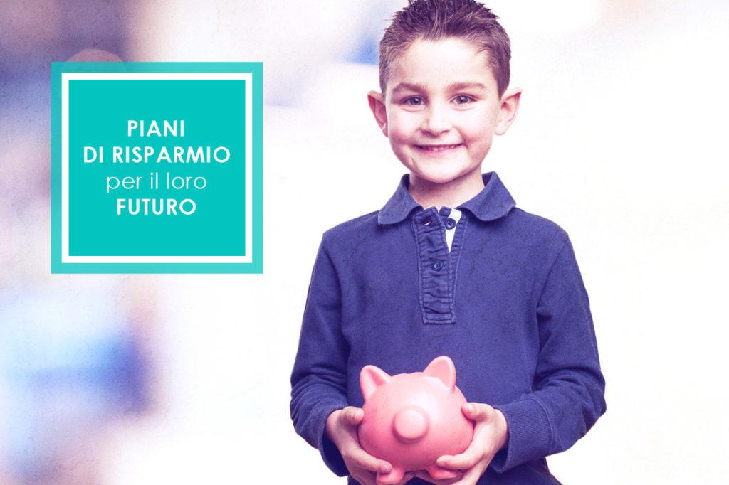 piano di risparmio bambini