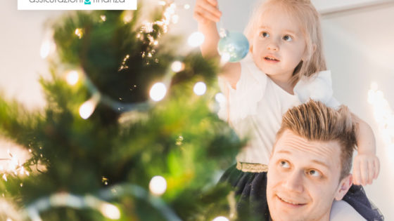 albero luci natale sicurezza